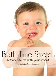 Activities for children.. From infant through toddler years