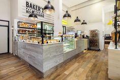 Baker's bakery by Studio 180, Tel Aviv – Israel