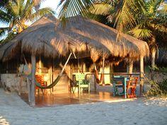 Zamas Cabana, Tulum, Mexico.  One of the Griffith, Wilmeth, Pratt, McBride adventures - so much fun!