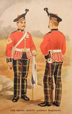 The Royal Scots.