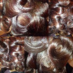 Healthy hair, curly hair, natural hair silk press