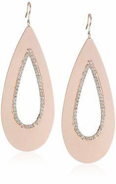 Sheila Fajl Rose Gold-Plated Cubic Zirconia Teardrop Earrings Sheila Fajl, http://www.amazon.com/dp/B004ZW1QMU/ref=cm_sw_r_pi_dp_aWAfrb0CFQQ8Z