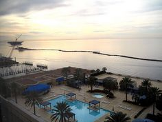 Biloxi Mississippi! the view from our hotel window