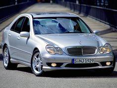Mercedes-Benz C 32 AMG (2001 – 2004). #MercedesSLK32 #windscreen #winddeflector http://www.windblox.com