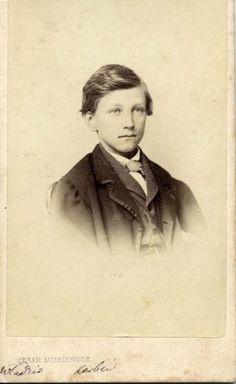 Портрет молодого человека, 1870 - 1879