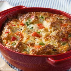 Southern Veggie Brunch Casserole from 101 Breakfast & Brunch Recipes | Gooseberry Patch Recipes