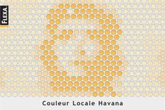 "Read more: https://www.luerzersarchive.com/en/magazine/print-detail/flexa-29175.html Flexa Poster for a paint range called ""Locale Havana"". Seen from a distance, the pots with the various shades of yellow from the face of Che Guevara. Tags: Bart Oostindie,Flexa,Van Walbeek Etcetera, Amsterdam,John De Vries,Antoine Houtsma,Joop Beerling"