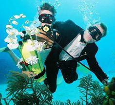 Si es posible!! Casarse bajo el mar en Punta Cana ~ Turismo Punta Cana