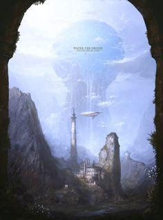 defenestrador:  Water, the Origin - by Yong.