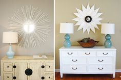 How To: Make Your Own Sunburst Mirror For Under $25