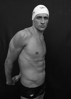 Ryan Lochte is the Ralph Lauren brand ambassador throughout the 2012 Olympic Games.