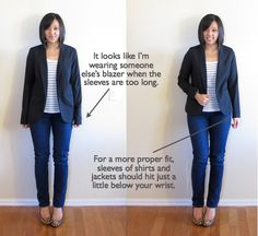 Wardrobe From Scratch, Part Basic Guide to Proper Fit - Putting Me Together Build A Wardrobe, Capsule Wardrobe, Bedroom Wardrobe, Look Fashion, Fashion Outfits, Womens Fashion, 50 Fashion, Curvy Fashion, Fashion Clothes