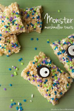 Monster Marshmallow Treats