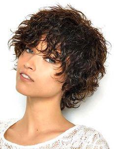 Résultats de recherche d'images pour «coupe cheveux mi court dégradé ondule»