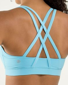 Energy Bra- it's my favorite sports bra hands down!  I also love the straps in the back-fun for layering!