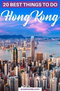 Find out about the best 20 things to do in Hong Kong in 4 days I Where to go in Hong Kong I HK things to do I #hongkong