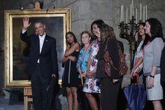 Michelle Obama President Obama Tours Old Havana Neighborhood