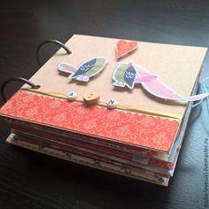 Мини-Альбом А&N - альбом для фото, альбом ручной работы LAVESSKI exclusive handmade