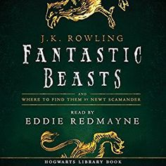 """Another must-listen from my #AudibleApp: """"Fantastic Beasts and Where to Find Them: Read by Eddie Redmayne"""" by J.K. Rowling, narrated by Eddie Redmayne."""