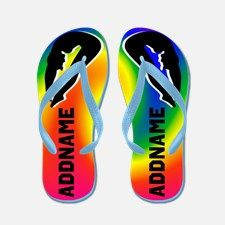 Champion Diver Flip Flops Calling all Divers! Terrific Girl's Diving personalized flip flops to encourage your competitive Diver. http://www.cafepress.com/sportsstar/13516535 #GirlDiver #Lovediving #Platformdiver #HighDiver #LovetoDive #Personalizeddiver