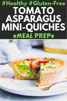 These Vegetarian Mini Quiches are made using natural, gluten-free ingredients. They are low-carb, ke Healthy Eating Recipes, Healthy Baking, Real Food Recipes, Vegetarian Recipes, Keto Recipes, Side Recipes, Brunch Recipes, Appetizer Recipes, Appetizer Ideas