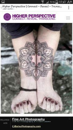 Beautiful split arm mandala. I would like it colored as a color wheel