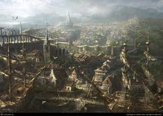 The port by XIANG LING | 2D | CGSociety