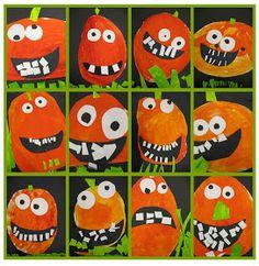 Apex Elementary Art: Pumpkins