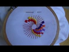 Hand Embroidery: ColorWheel Stitch - YouTube