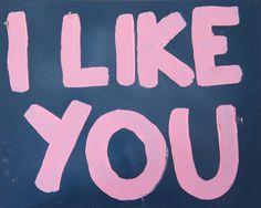 "Saatchi Online Artist: Eduardo Bessa Rodrigues; Aerosol Paint, 2011, Painting ""I Like you"""