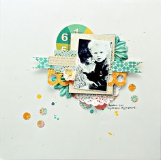#papercrafting #scrapbook #layout