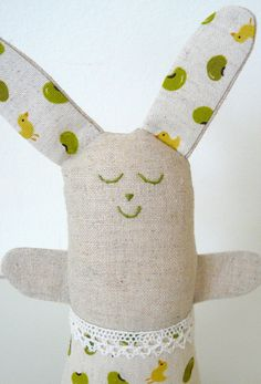 Easter Bunny soft toy by edwardandlilly, via Flickr