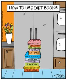 Now We Know! | Diet Books #food_funnies #dieting_tips