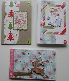 Echo Park Happy Holidays christmas cards 3