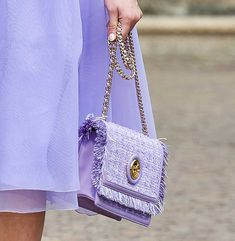 Fashion Bags, Fashion Show, Womens Fashion, Milan Fashion, Vogue India, Lilac, Lavender, Miu Miu, Women Accessories