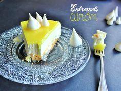 recette tarte citron entremets