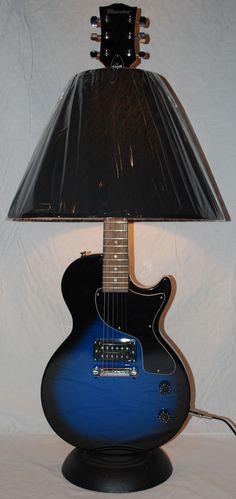 Dan Leap Designed Special LP Flat Top Guitar Lamp