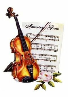 Music and Roses Image Freebies