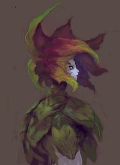 Flower girl by elbardo.deviantart.com on @DeviantArt