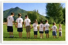family reunion...shirts for kids birth order