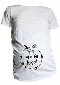 You Are So Loved Maternity Shirt / Harry Potter Inspired Maternity T Shirt…
