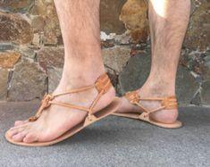 fd4e69e0d12 Barefoot Men sandals Handmade sandals Sparta sandals