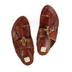 KORAKARI Typical Kolhapuri kapshi Chappal for Men KRKA-M-008