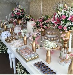 Quinceanera Party Planning – 5 Secrets For Having The Best Mexican Birthday Party Wedding Desserts, Wedding Cakes, Wedding Decorations, Party Planning, Wedding Planning, Bridal Shower, Baby Shower, Candy Table, Event Decor