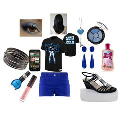 """My wwe monday night raw outfit"" by ittybittykittyy on Polyvore"