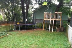 backyard tree houses kids - Google Search