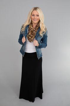 Magnolia Boutique Indianapolis - Solid Maxi Skirt- Black, $36.00 (http://www.indiefashionboutique.com/solid-maxi-skirt-black/)