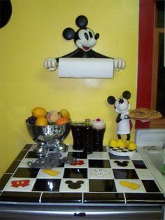 Mickey Kitchen. I Would Love To Do This :]