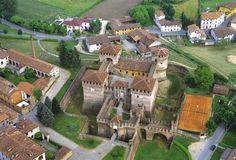 Rocca di Soncino (provincia di Cremona), Italy. 45°24′00″N 9°52′00″E