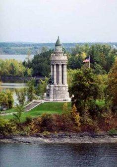 Lake Chanplain #Lighthouse at Crown Point, #NY   -   http://dennisharper.lnf.com/